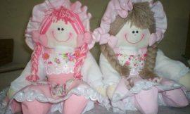 Como fazer bonecas de pano
