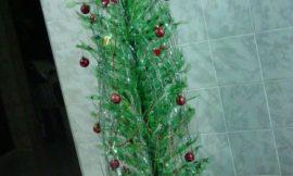 Árvore de Natal com garrafa pet, como fazer?