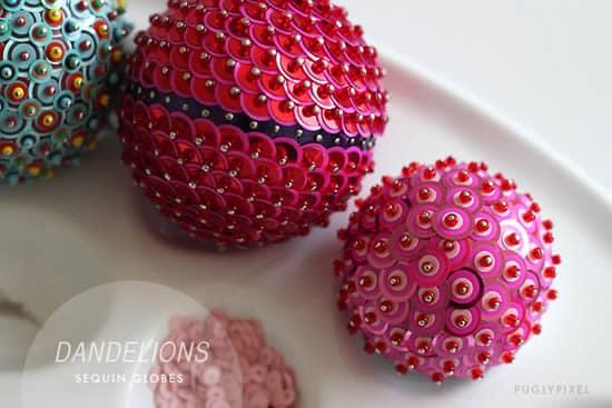 Read more about the article Como fazer bolas de Natal de isopor