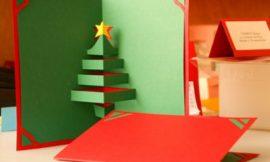 Como fazer cartão de Natal artesanal
