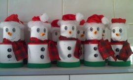 Como fazer enfeites de Natal reciclados