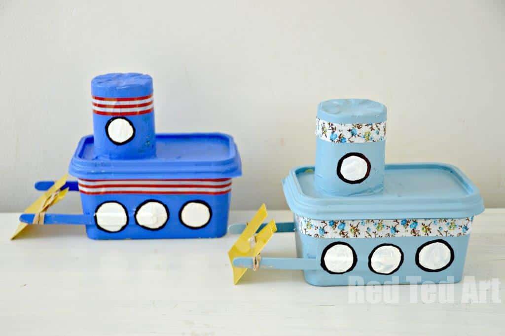 brinquedos com material reciclável