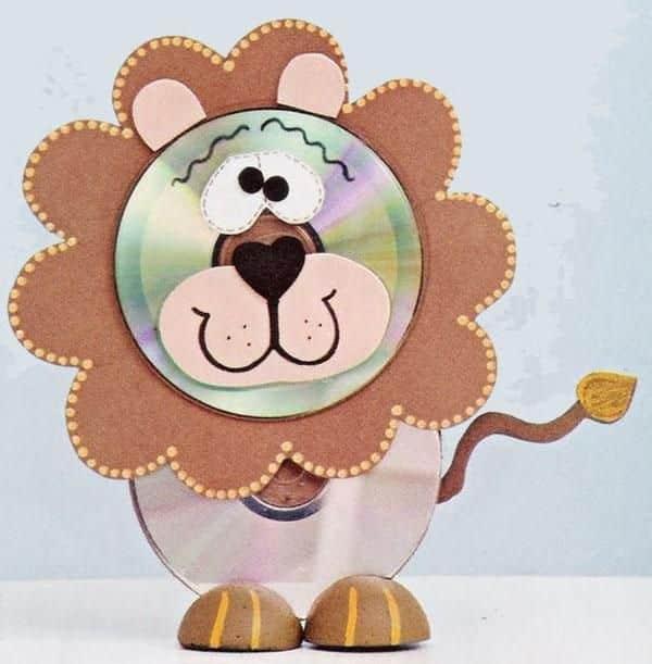 brinquedos reciclados animais