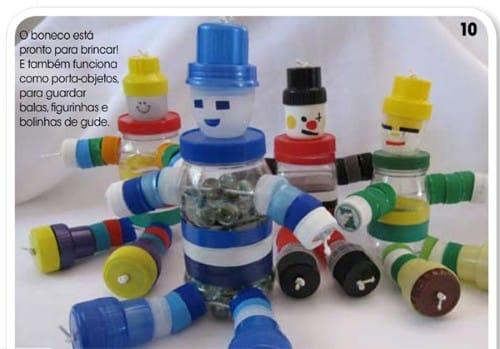 Read more about the article Como fazer artesanato com tampa de garrafa pet