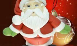 Como fazer Papai Noel de biscuit passo a passo