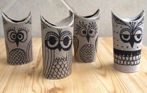 You are currently viewing Como fazer artesanato com rolinho de papel higiênico