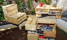 Como fazer artesanato com caixas de feira