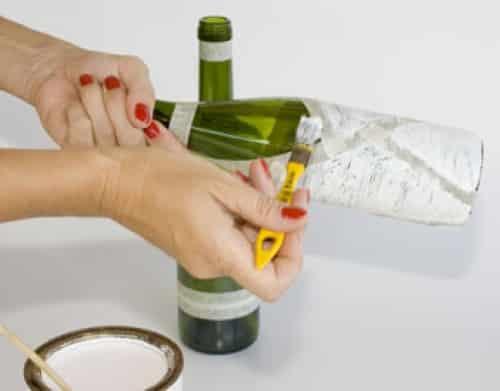 Como fazer garrafas decoradas (Fotos: Divulgação).