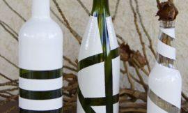 Como fazer artesanato com garrafas de vidro