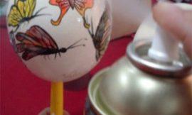 Como fazer artesanato em ovo de avestruz