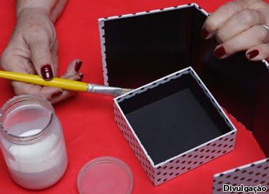 Aprenda a fazer caixa de papelão (Foto:Divulgação)