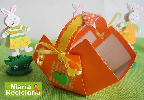 Read more about the article Como fazer cesta de páscoa com caixa de leite
