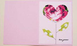 Como Fazer Cartão Artesanal para Dia das Mães