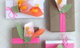Como Fazer Embalagem para Dia das Mães