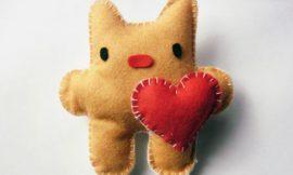 Como Fazer Artesanato para Dia dos Namorados de Feltro