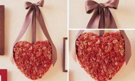 Como Fazer Enfeite de Coração para Dia dos Namorados