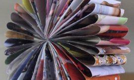 Artesanato com Revistas Velhas