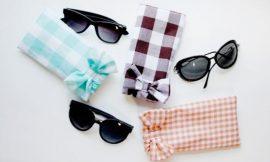 Como Fazer Porta-Óculos de Tecido