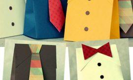 Como Fazer Embalagem de Presente para Dia dos Pais