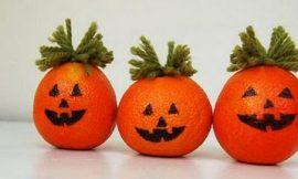 Como Fazer Miniabóboras De Halloween