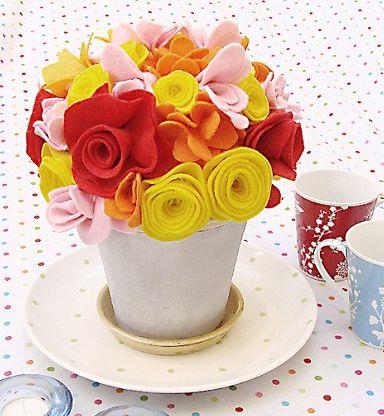 Read more about the article Como Fazer Arranjo Floral de Feltro