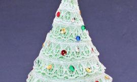 Como Fazer Árvore de Natal de Mesa