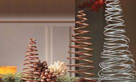 Como Fazer Árvore de Natal com Arame