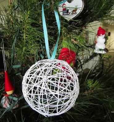 Read more about the article Como Fazer Bola de Natal em Barbante