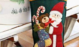 Como Fazer Botinha do Papai Noel de Feltro
