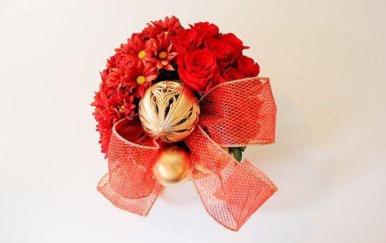 Read more about the article Como Fazer Artesanato de Natal com Flores