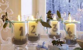 Como Fazer Velas para Decoração de Ano Novo