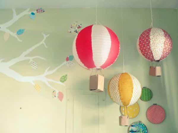 Este simpático balão de ar é tão fácil de ser feito que até os pequenos irão querer ajudar a confeccioná-lo (Foto: Divulgação)
