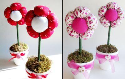 You are currently viewing Como Fazer Vaso com Flores de Tecido para Dia das Mães