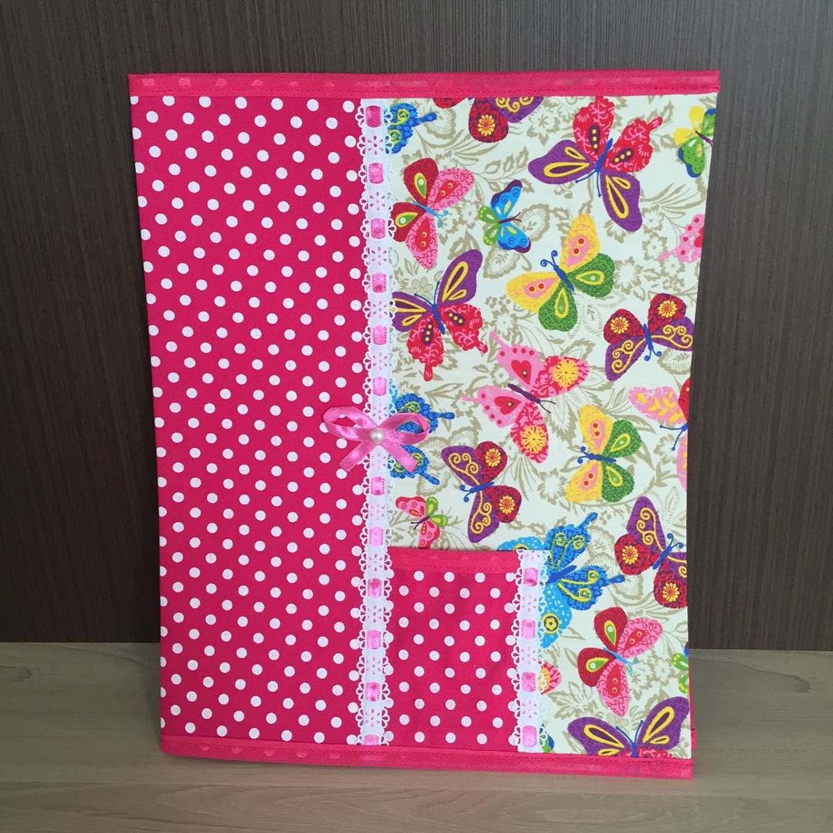 capa de caderno pequeno