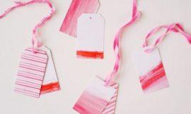 Como Fazer Etiquetas do Dia dos Namorados para Presente