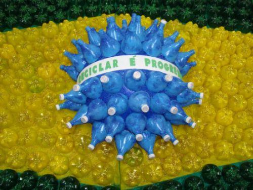 Read more about the article Como Fazer Bandeira do Brasil com Material Reciclável