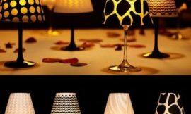 Como Fazer uma Luminária com Taça