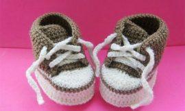 Como Fazer Sapatinho de Crochê para Bebê