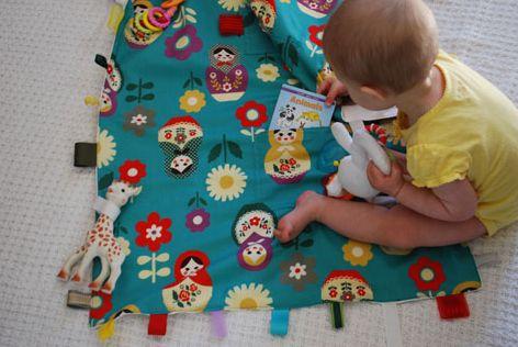 Read more about the article Como Fazer Tapete de Atividades para Bebê