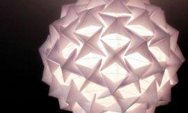 Como Fazer uma Luminária de Origami