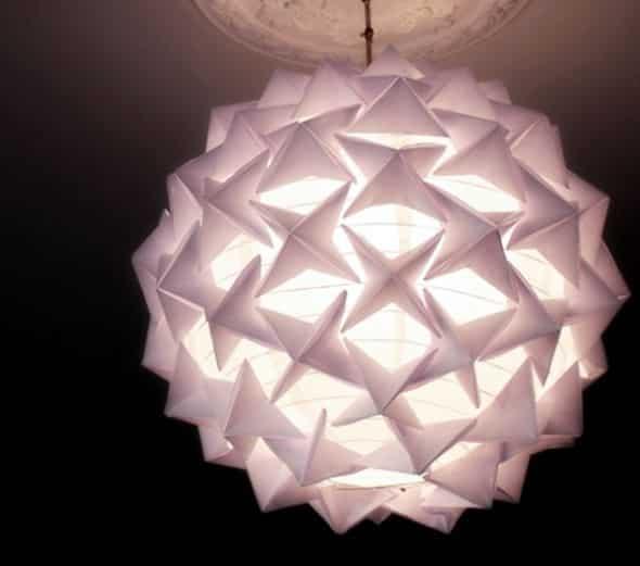 Read more about the article Como Fazer uma Luminária de Origami