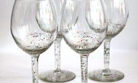Como Decorar Taças com Glitter