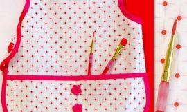 Como Fazer um Avental Infantil para Pintura
