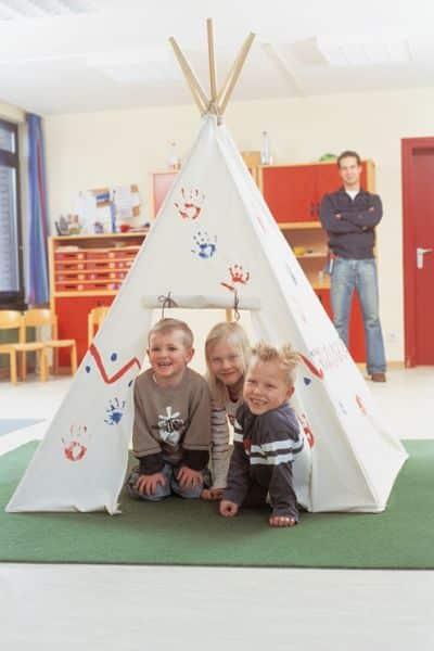 Seus filhos vão adorar se você fizer esta cabana infantil (Foto: decomanitas.com)