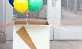 Como Fazer uma Caixa Surpresa com Balões