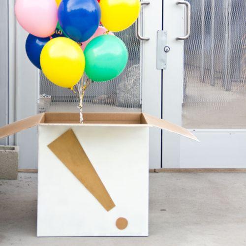 Read more about the article Como Fazer uma Caixa Surpresa com Balões