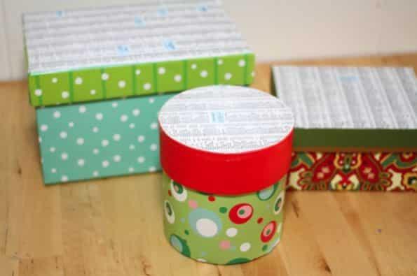Reciclar caixas de Natal é mais fácil do que você imagina (Foto: trashycrafter.com)
