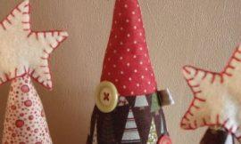Como Fazer Miniárvore de Natal em Tecido