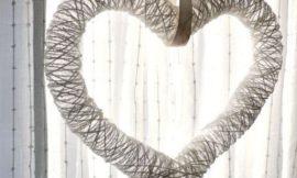 Como Fazer um Coração de Barbante