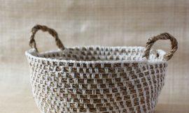 Como Fazer uma Cesta Fruteira de Crochê